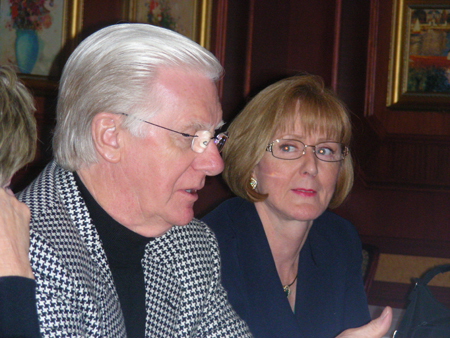 Florence & Bob Proctor - Dinner Toronto 450