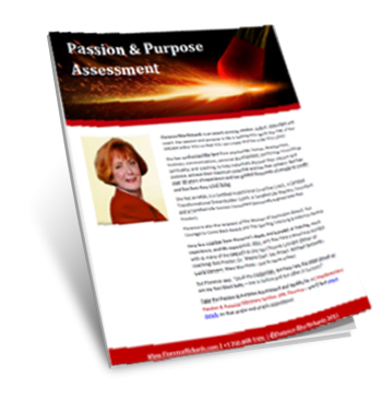 Passion and Purpose Assessment by Florence Rita Rickards